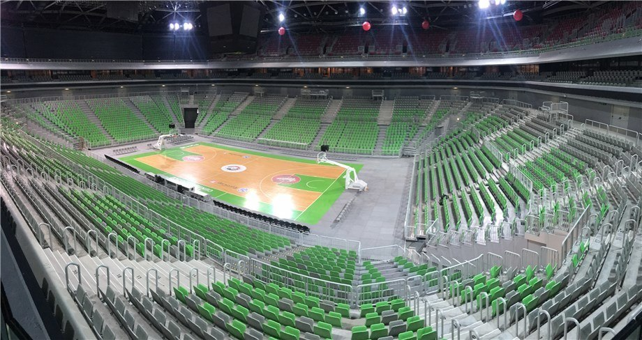 Brand New 12,000 Seat Arena to Host 2017 U23 World Championships