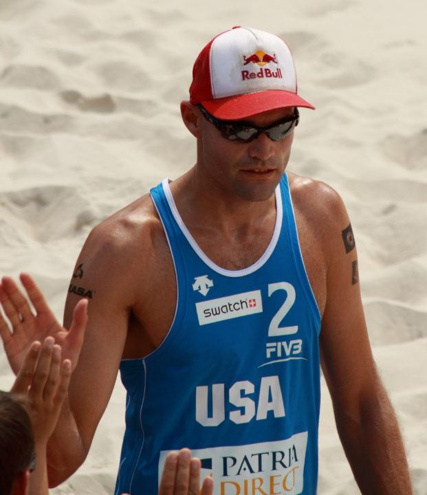 USA Volleyball Names Phil Dalhausser 2016 Beach Player of the Year