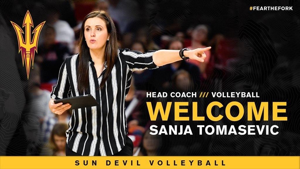 Arizona St. Promotes Sanja Tomasevic to Women's Volleyball Head Coach
