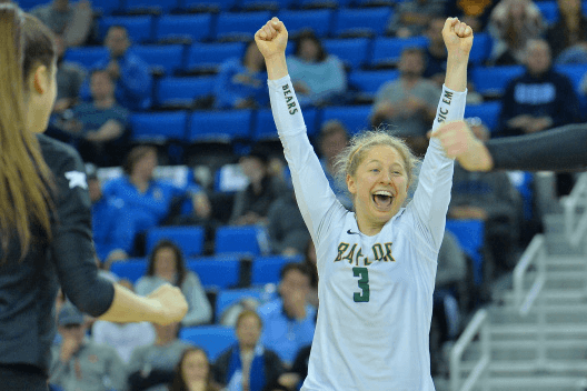 Baylor Handles UCSB in 3 Sets for First 3-0 Start Since 2012