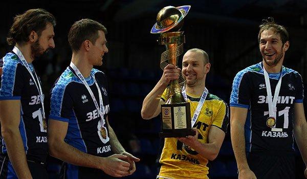 Wilfredo Leon Returns to Lead Zenit Kazan to Russian Cup Title