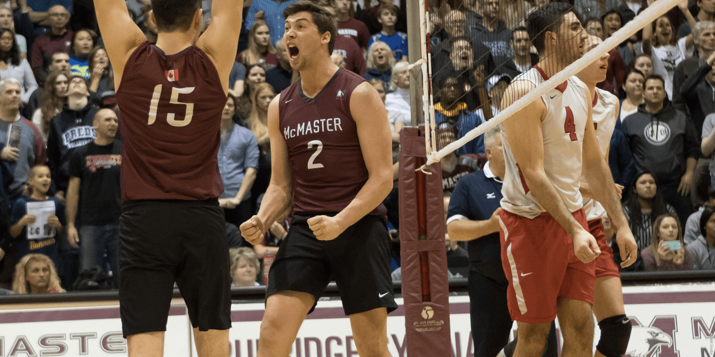 McMaster Sweeps Defending National Champions No. 1 Ohio State