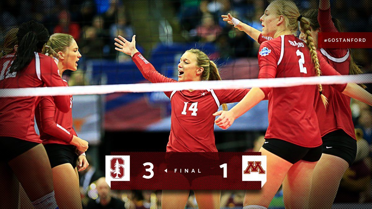 Stanford Dominated Minnesota 3-1 in Semifinals, Advances to NCAA Final