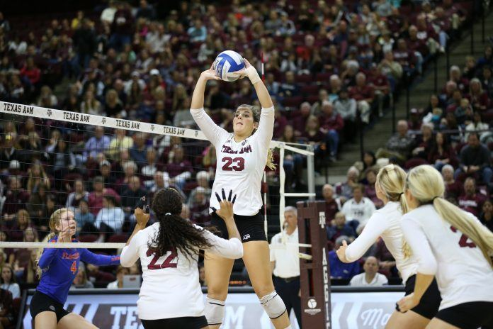 Texas A&M's Aiple Will Forego Her Senior Year Due To Chronic Back Pain