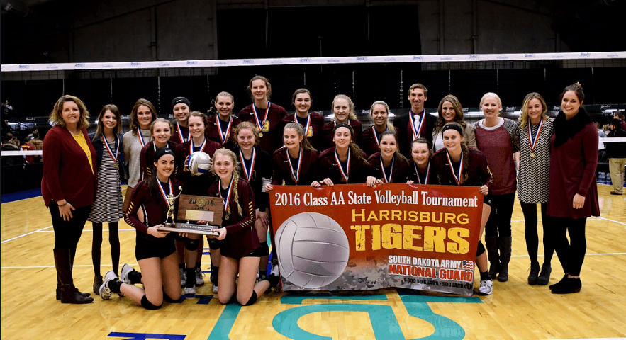 Harrisburg Battles Through Five Sets To Take South Dakota State Title