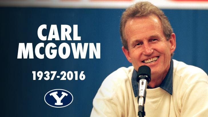 Funeral Arrangements Made for Passed BYU Coach McGown