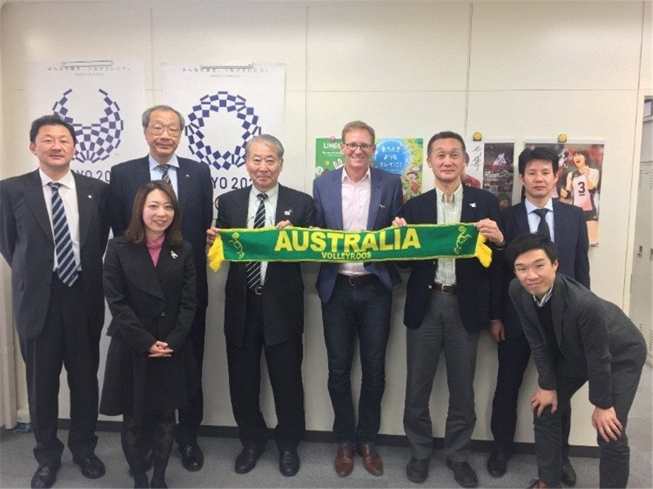 Australia and Japan Expand Tokyo 2020 Relationship to Volleyball