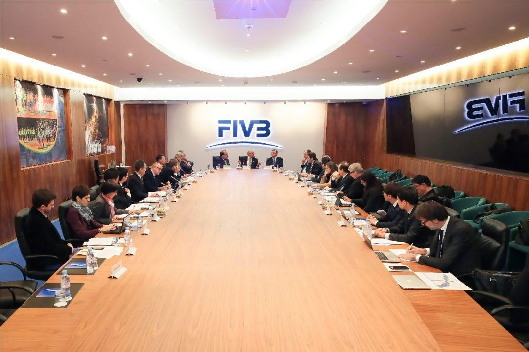 FIVB & Leagues Meet To Discuss An Array Of Topics In Lausanne