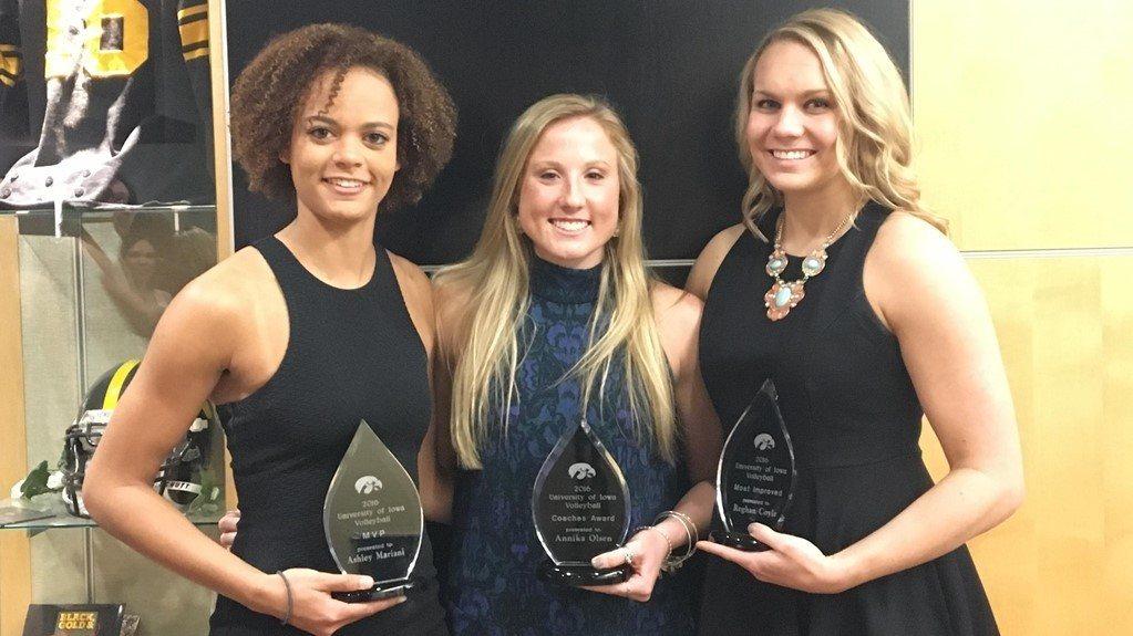 Iowa Announces Mariani, Olsen & Coyle As 2016 Award Recipients