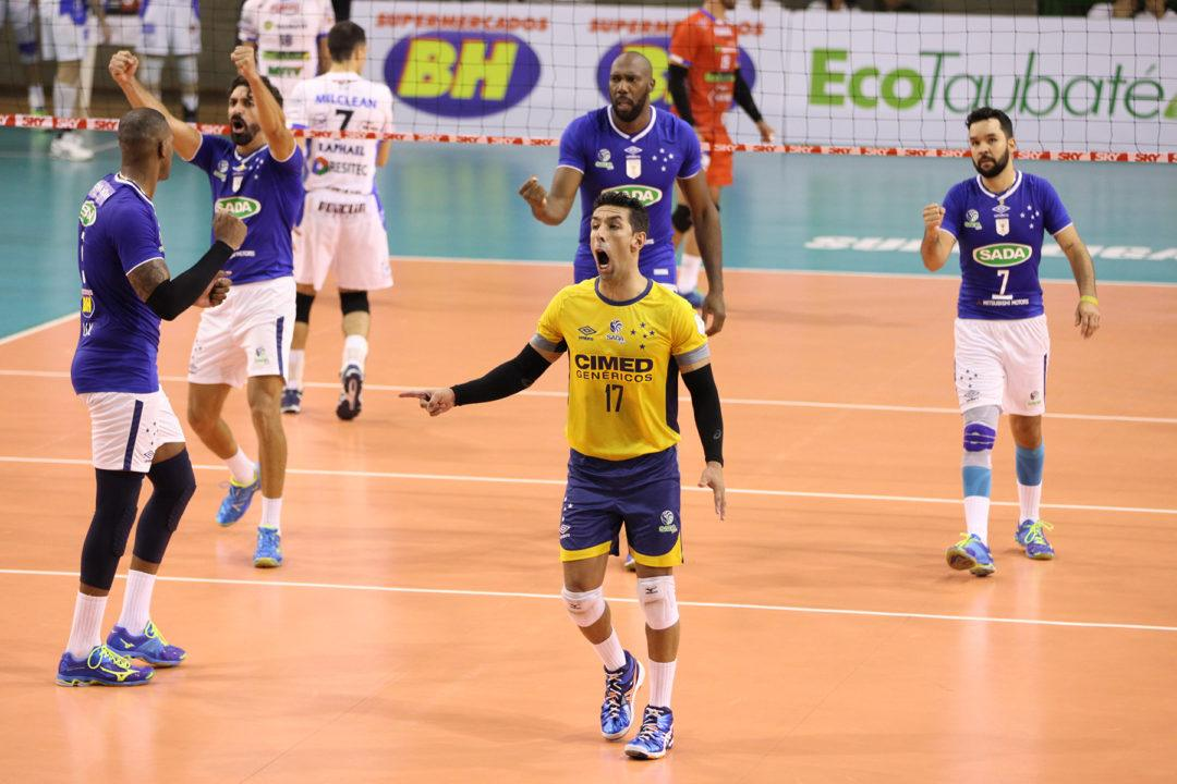 Sada Cruzeiro Remains Undefeated In Brazil Men's Superliga
