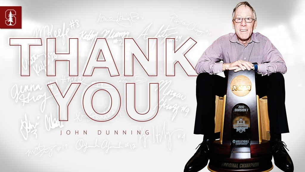 Going Out on Top: Stanford's John Dunning Retires After National Title
