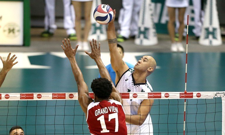 #5 Hawaii Tops Grand View In Second Meeting Over The Weekend