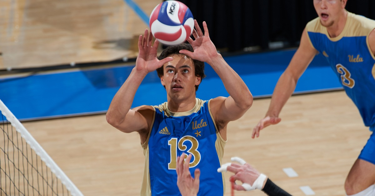 #4 UCLA Does A Reverse Sweep, Downs #2 UCI In Five