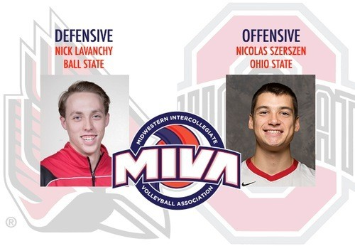 Ball State & Ohio State Earn First MIVA Awards Of 2017