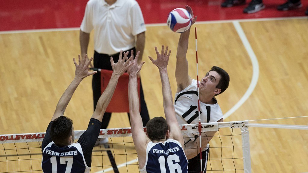 #13 Ball State Outlasts Harvard In Five Set Battle