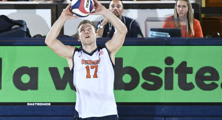 Joshua Stewart Propels #9 Pepperdine To Four Set Win Over #12 UCSB