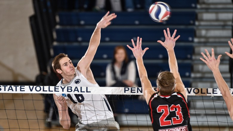 No. 12 Penn State Men Sweep Harvard