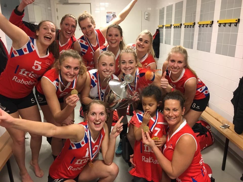 VC Sneek Women Win First Dutch Cup Title Since 2014