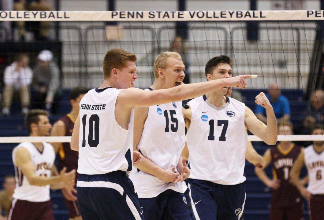 Penn State & George Mason Earn Weekly EIVA Honors