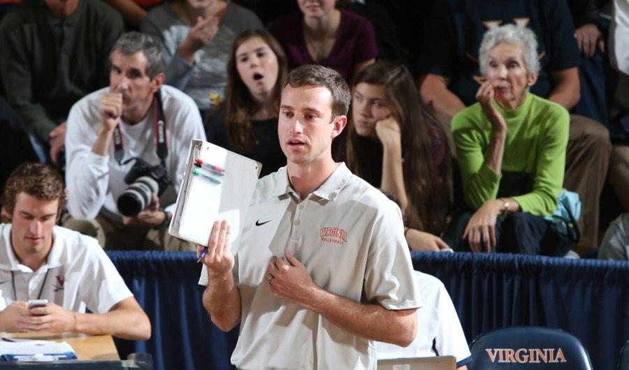 Virginia Names Aaron Smith as New Head Women's Volleyball Coach