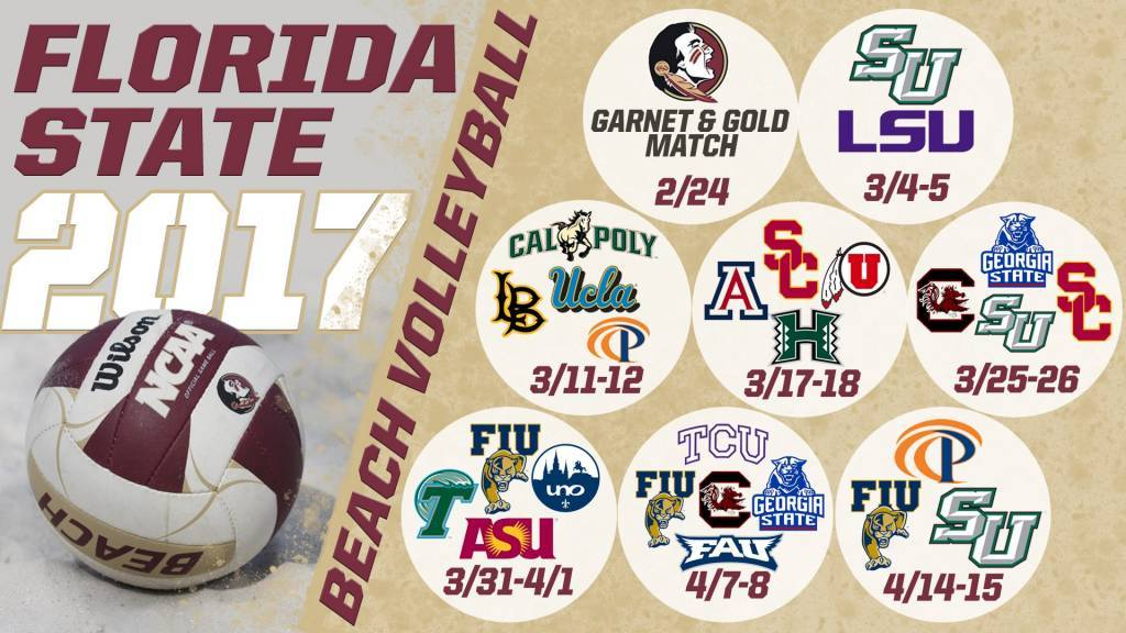 Florida State Will Take On All Top 10 Schools This Beach Season