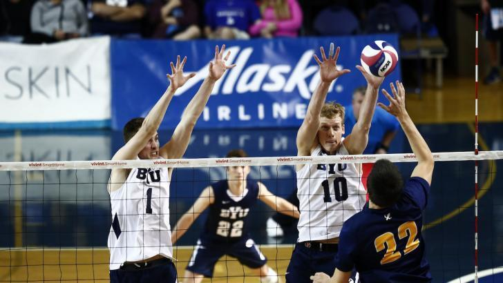 No. 3 BYU Men Rally for 3-1 Win Over UCSB