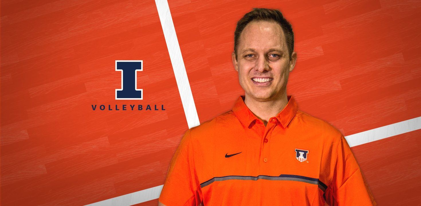 Illinois Hires Chris Tamas as New Head Volleyball Coach