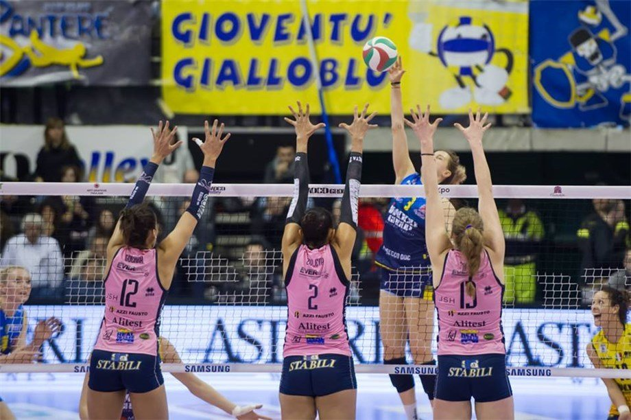 Defending Champs Imoco Edged By Bisonte In Italian Women's Playoffs