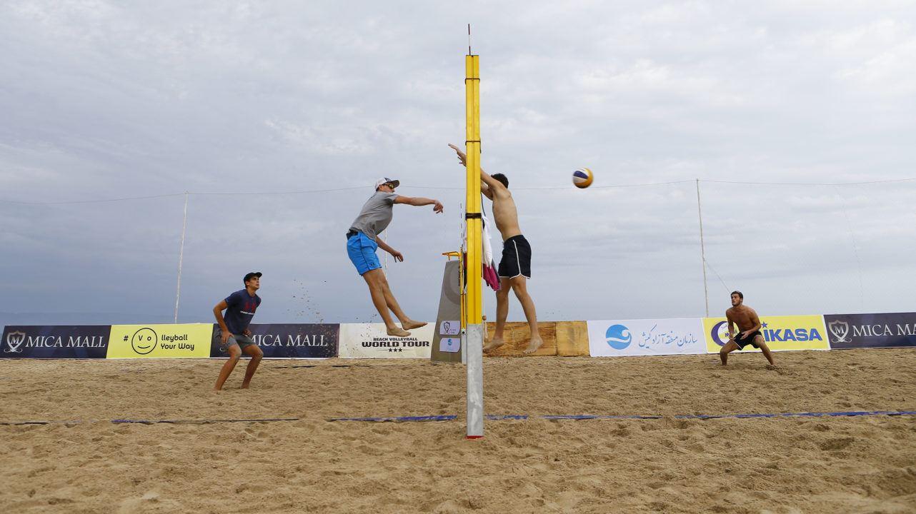 Iranian Beach Volleyball Coach Talks Future of the Sport & Kish Island