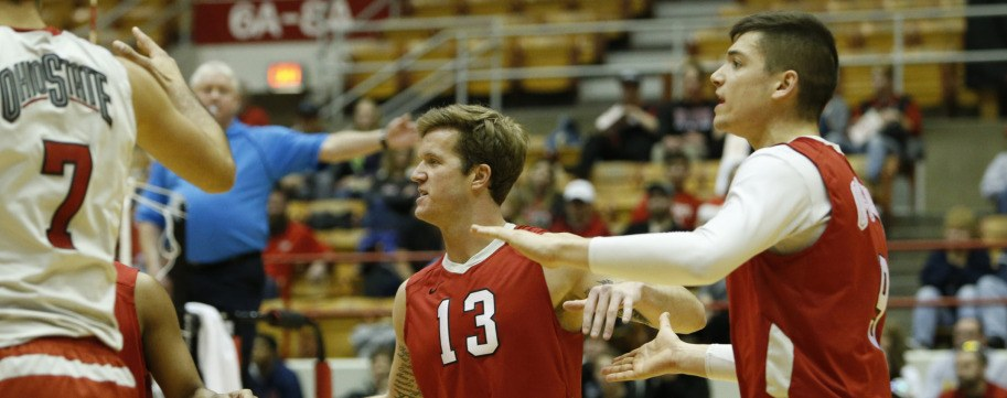Ohio State Men's Volleyball Wins 41st-Straight to Break MIVA Record