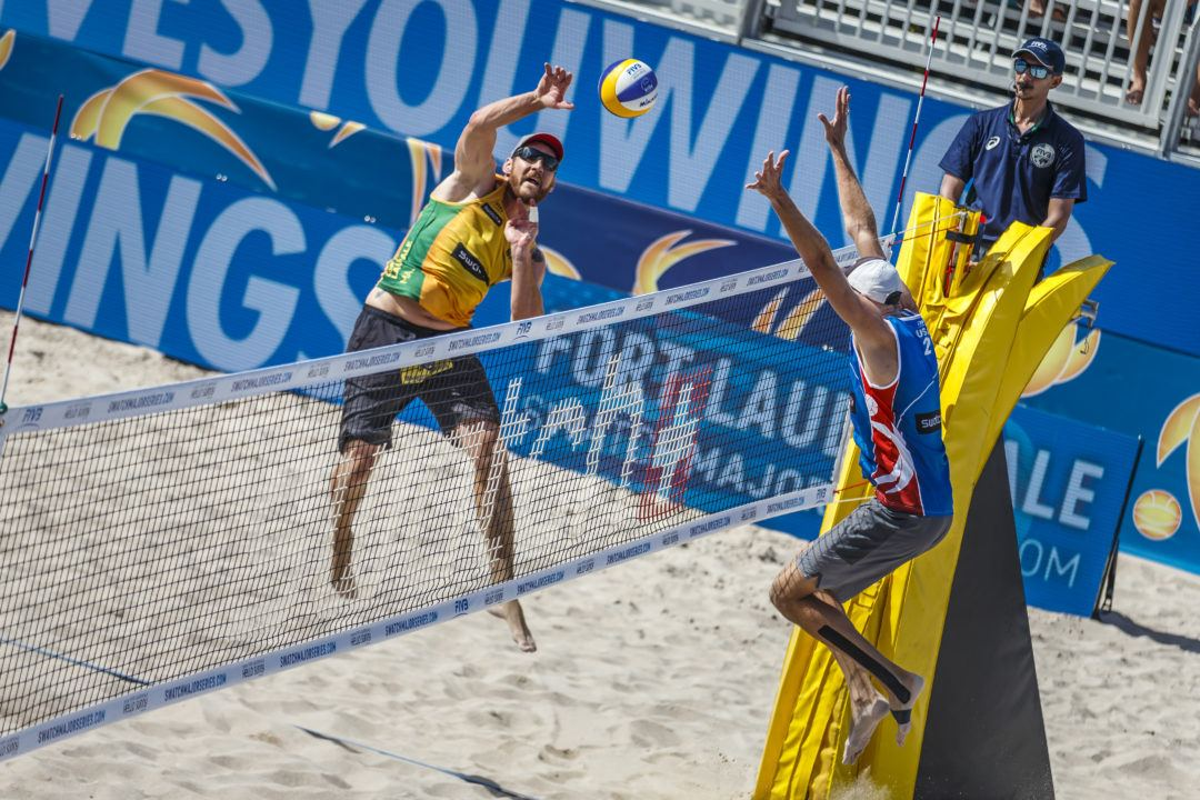 Reigning Olympic Champions Cerutti/Schmidt Advance To Quarterfinals