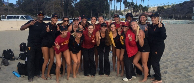 Defending Champion USC Beach Will Play Every NCAA Qualifier in 2017
