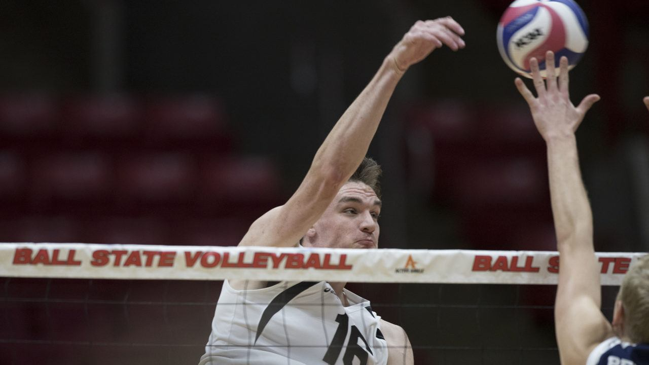 #11 Ball State Sweeps Grand Canyon Behind A Matt Szews Double-Double