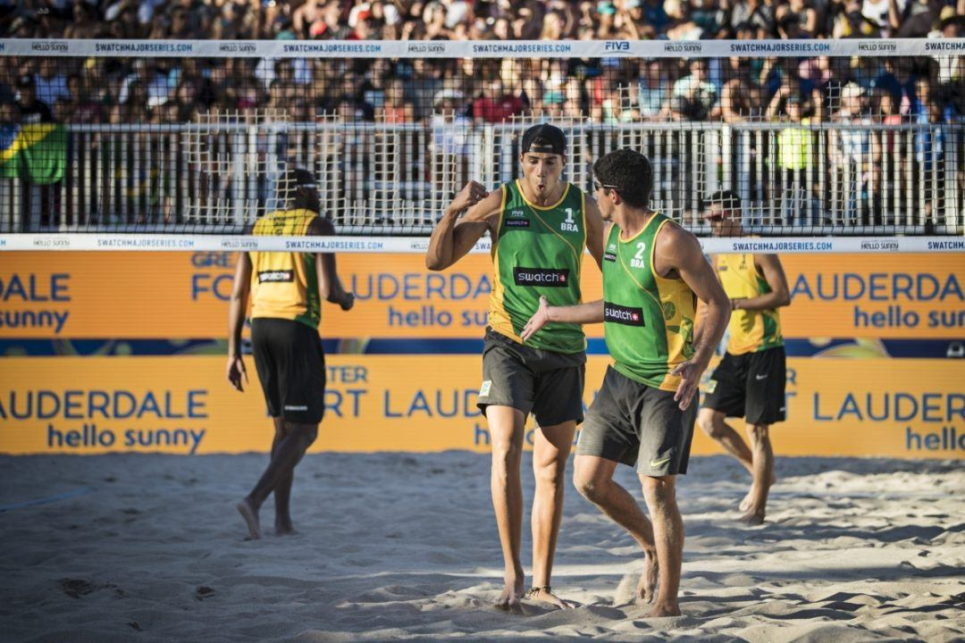 Alvaro/Barbosa Trounce Evandro/Loyola For Fort Lauderdale Major Title