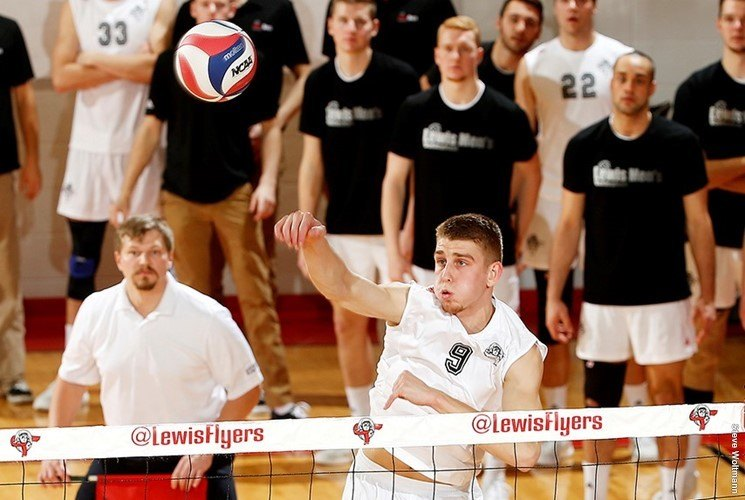 #7 Lewis Defeats MIVA Rival #11 Ball State with 52 Total Kills