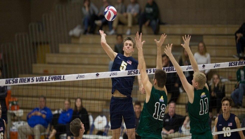 #15 UC Santa Barbara Rolls Through #11 CSUN In Sweep