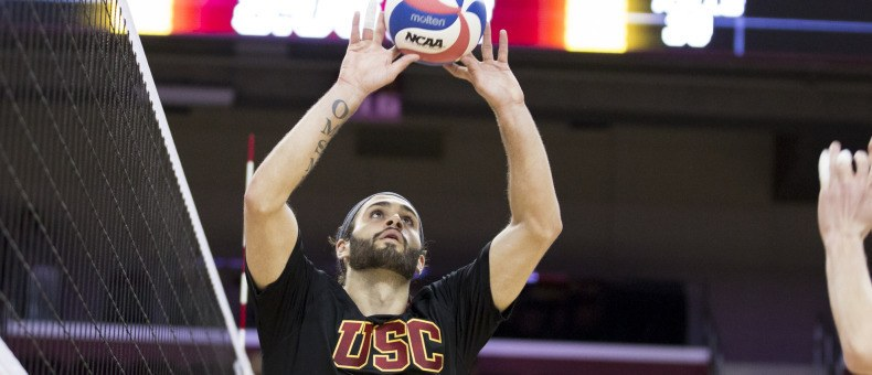 #14 USC Upsets #5 Lewis Behind Grasso Double-Double