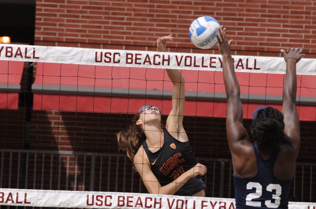 #1 USC Beach Hosts Washington, #15 Arizona State Friday