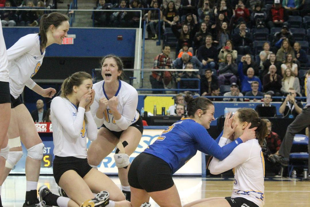 UBC Wins 11th U Sports National Title In 4 Set Victory Over Alberta