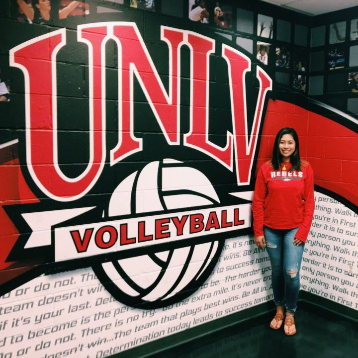UNLV Libero and 2017 Digs Leader Leka Kiner-Falefa Not on Roster