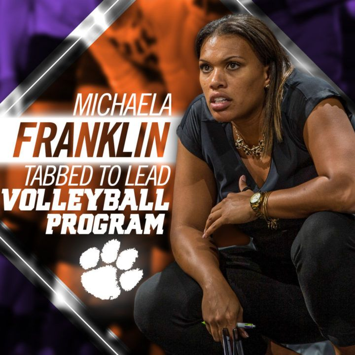 Clemson Hires Iowa's Michaela Franklin as New Head Volleyball Coach