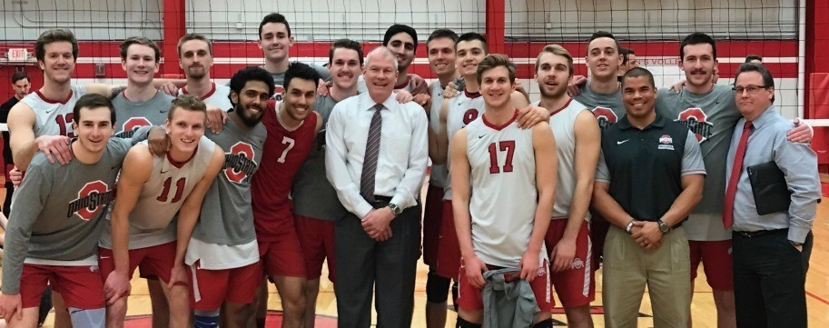 Ohio State Men's Volleyball Team Receives Championship Rings