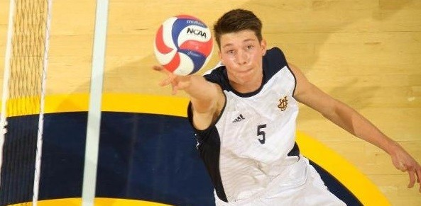 UC Irvine's Michael Saeta Signs First Pro Contract With Chaumont VB 52