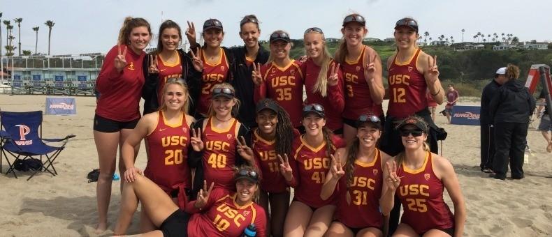USC's Bukovec & Wheeler Earns Pac-12 Beach Pair Of The Week