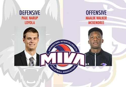 Loyola & McKendree Pick Up MIVA Weekly Honors