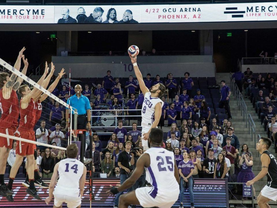 Cullen Mosher's 24 Kills Leads Grand Canyon To 3-2 Win Over McKendree