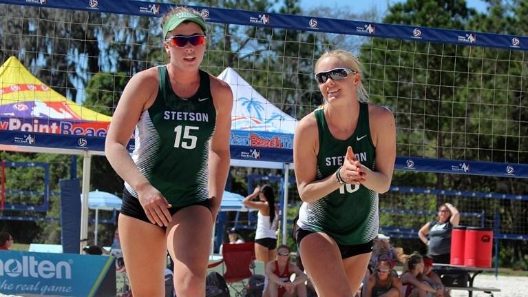 Stetson's Lind & Dunn Earn Third ASUN Weekly Beach Pair Award