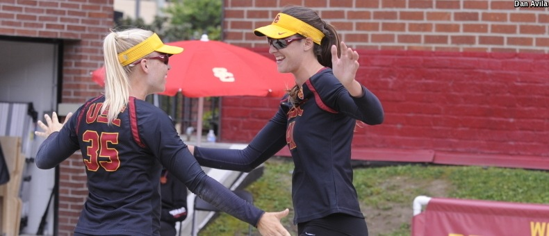 USC's Martin Named Pac-12 Beach Scholar-Athlete Of The Year