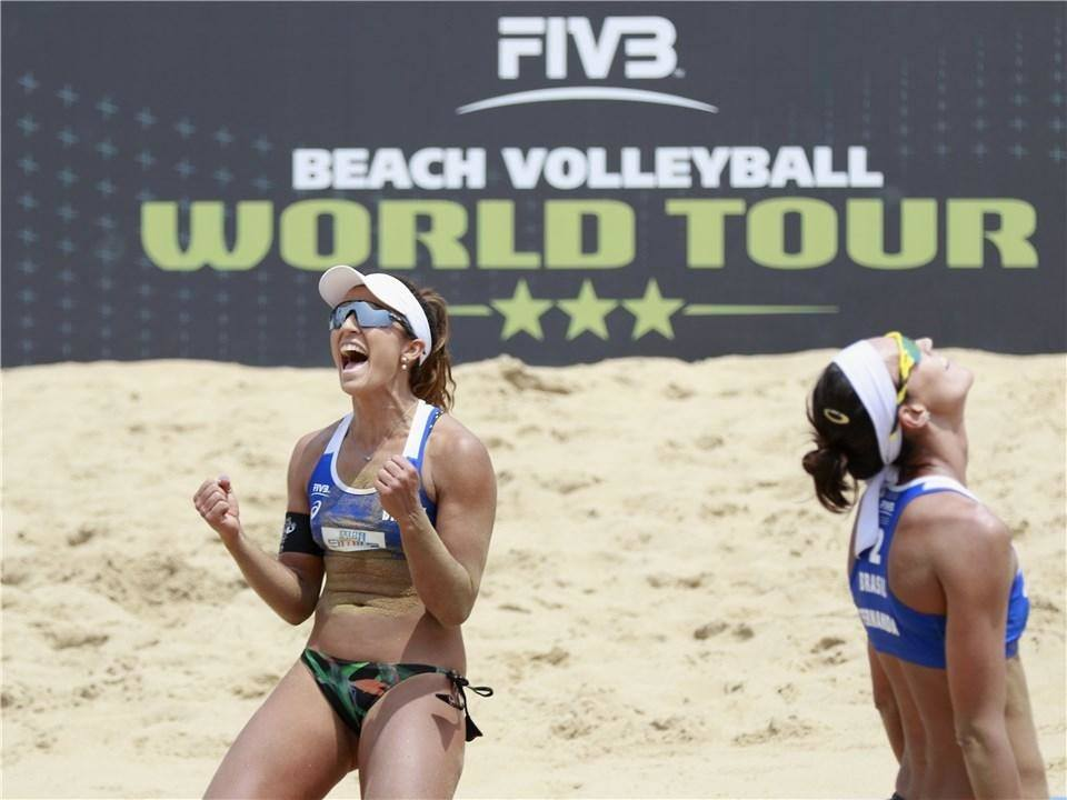 Brazil's Barbara/Fernanda Take Xiamen Women's Gold