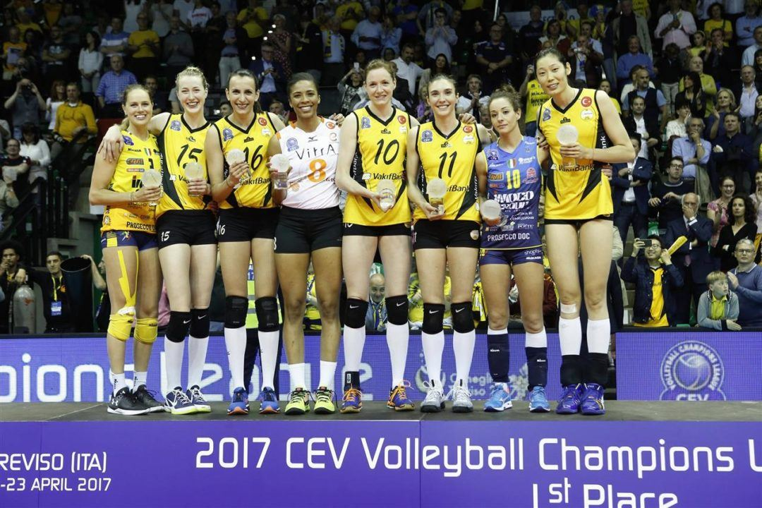 Three Americans Named to CEV Women's Dream Team